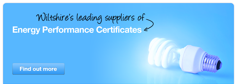 Wiltshire's leading suppliers of Energy Performance Certificates